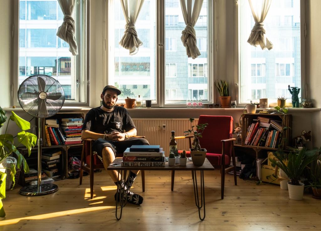 Liam Alexander Domonkos Between Two Ferns
